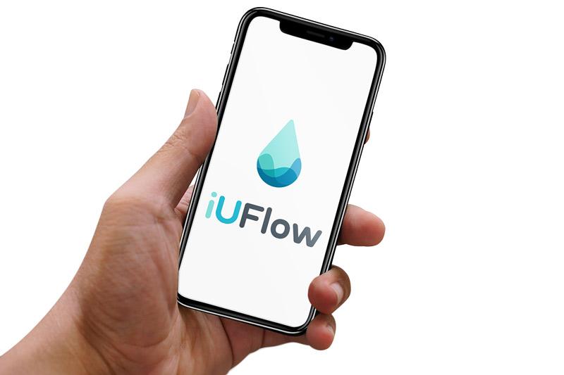 iUFlow voiding diary app. Urine log